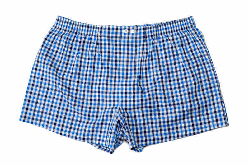 Male infertility keep testicles cool boxer shorts